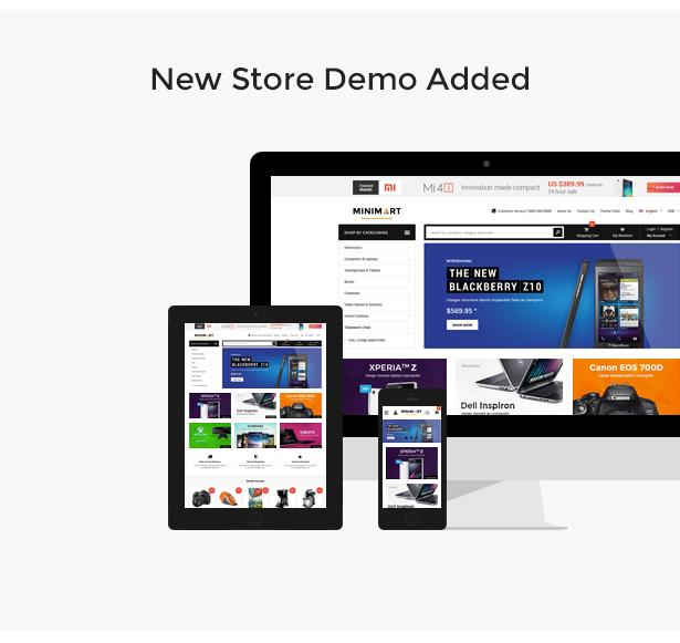 MINIMART - Responsive Shopify Theme