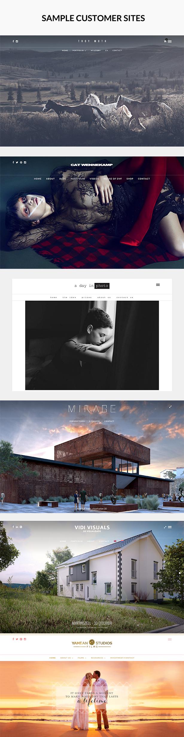 Photo Me - Photo Photography WordPress Theme