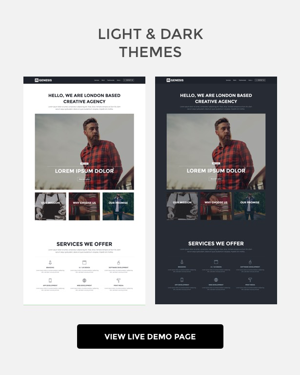 Rgen Agency Landing Pages