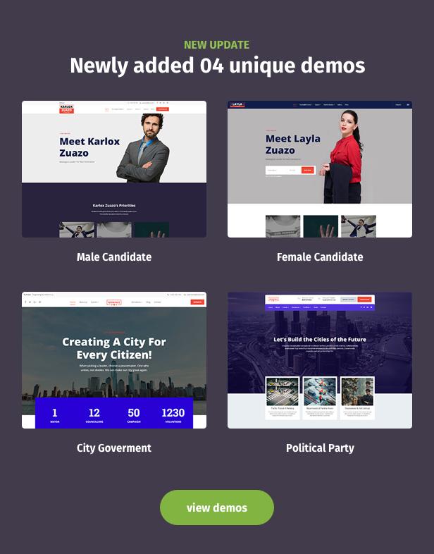 Political WordPress Theme New update