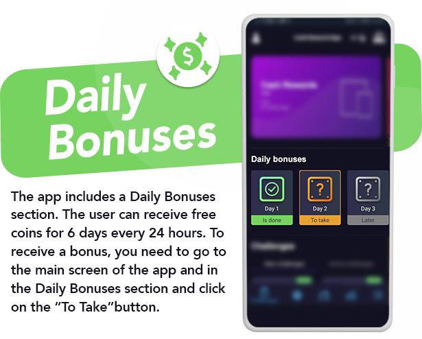 Premium Rewards App - CPI Offers System & Rewards App & HTML5 Mini Games + PHP Laravel Admin Panel - 12