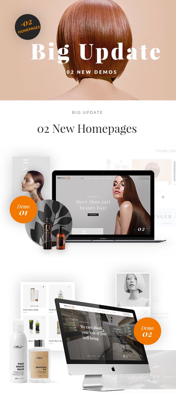 Hair Salon Baber Shop WP Theme