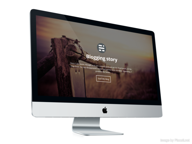 Blogging Story Responsive Ghost Theme - 1