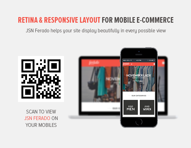 Retina & Responsive Layout for mobile e-Commerce