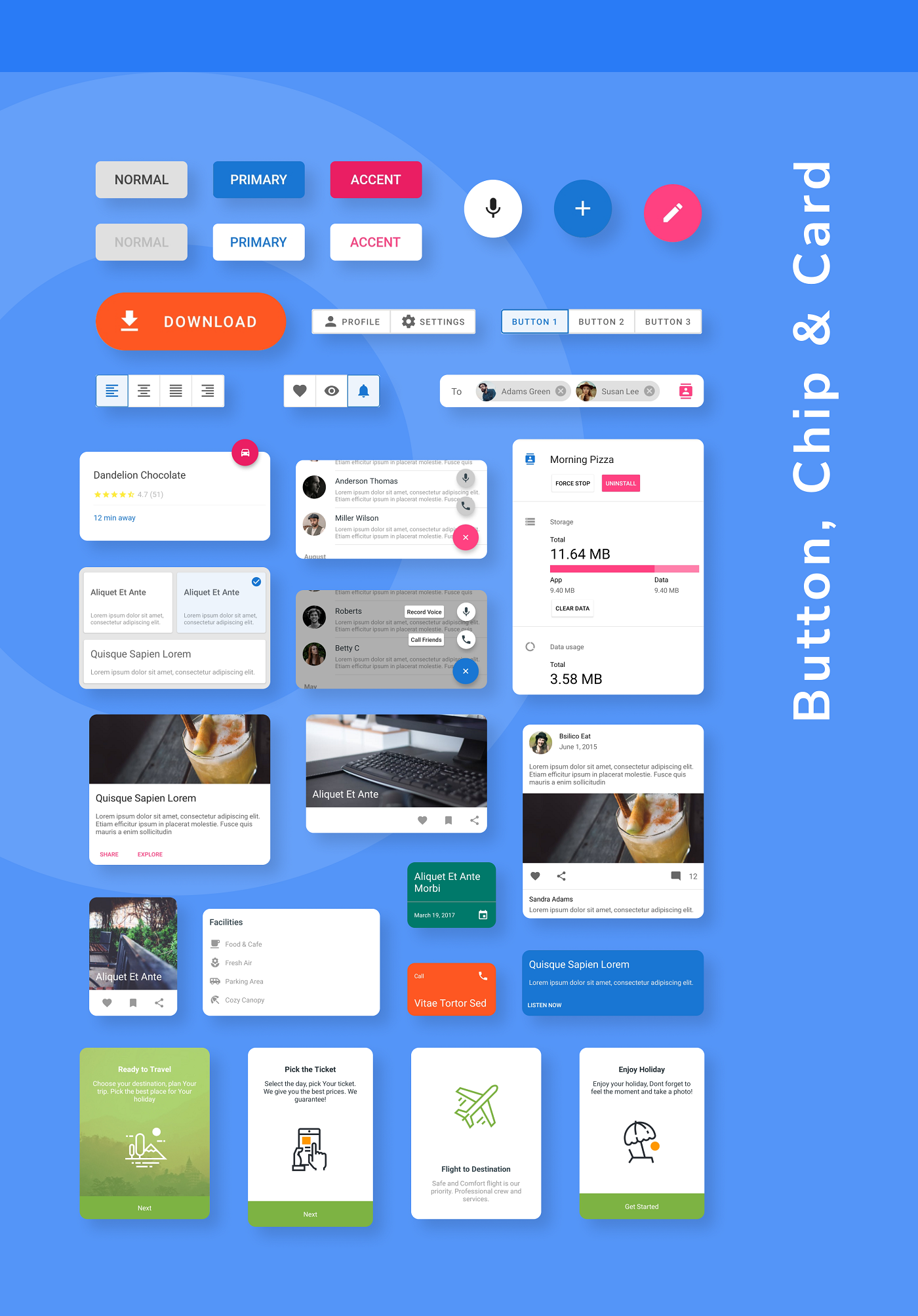 MaterialX - Android Material Design UI Components 2.7 - 11
