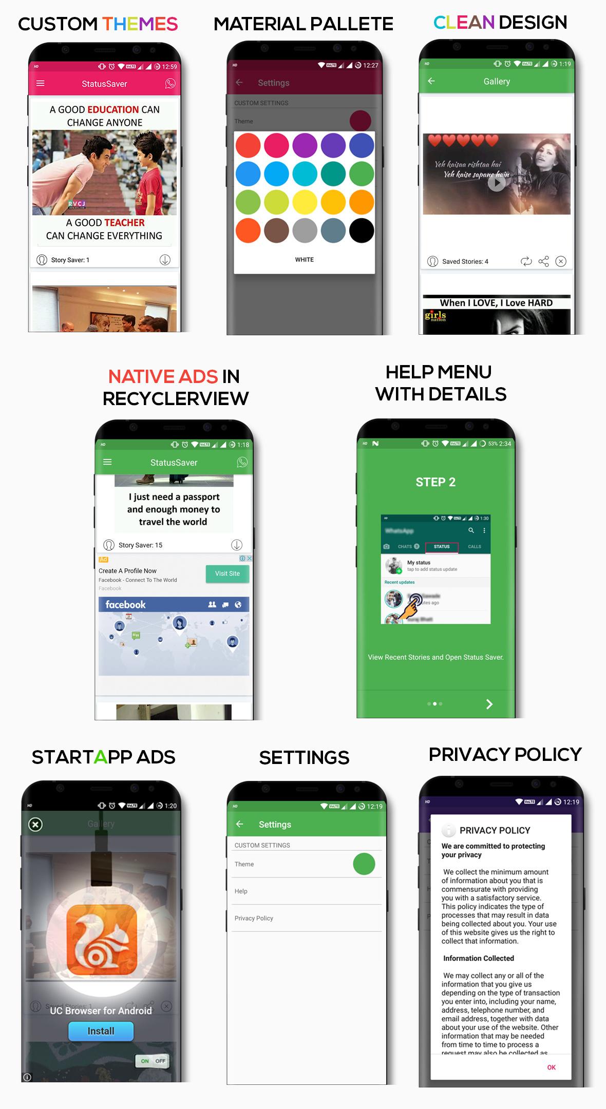 Status Saver For WhatsApp - 1