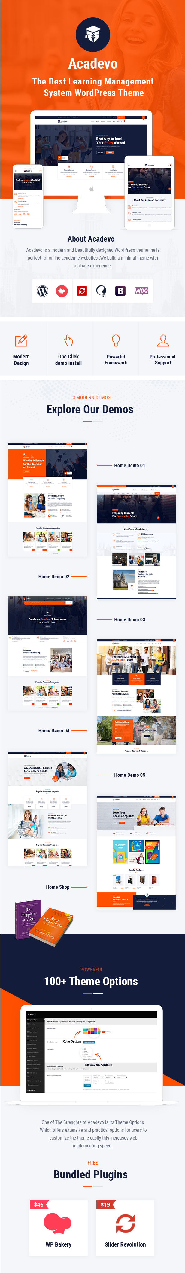Acadevo WordPress Theme
