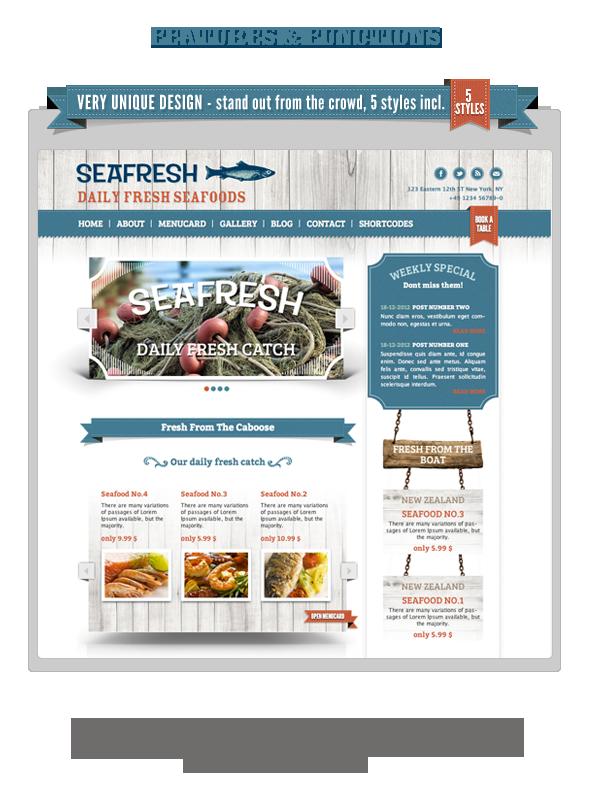 Delimondo Responsive Wordpress Theme | 5 Styles - 9