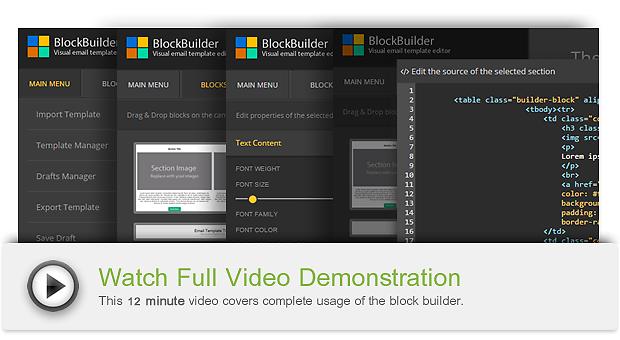Download Drag Drop Email Builder Block Builder Nulled
