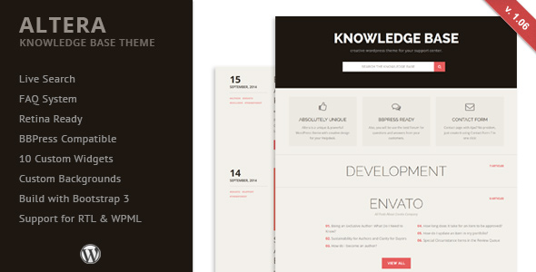 TimeDesk - Responsive Knowledge Base FAQ WordPress Theme - 16