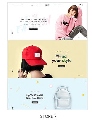 single page scrolling shopify theme