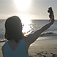 Take a Selfie on the Beach - VideoHive Item for Sale
