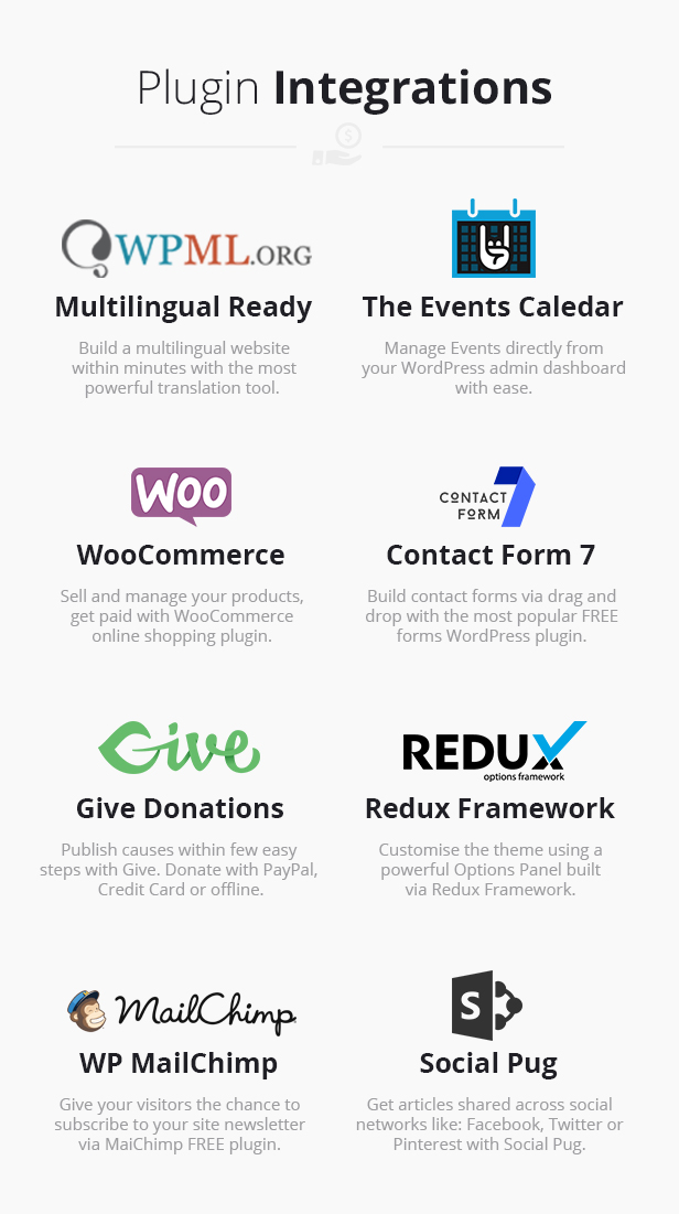 Fundraising - Charity/Donations WordPress Theme - 3