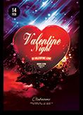 Valentine Night Flyer