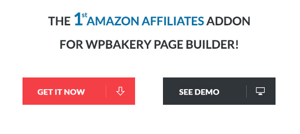 Amazon Affiliates Addon for WPBakery Page Builder (formerly Visual Composer) - 1