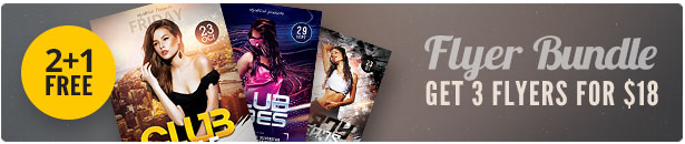 Sexy Party Flyer Bundle Vol.03