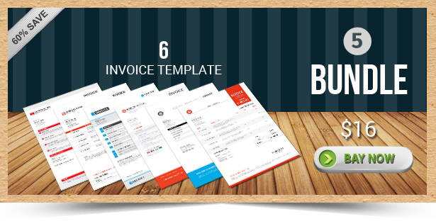 Active Invoice Templates - 5