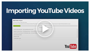 Vlogger - YouTube Video Import