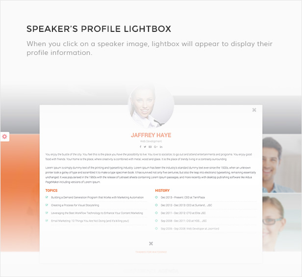 Meetup - Conference Event WordPress Theme - 7