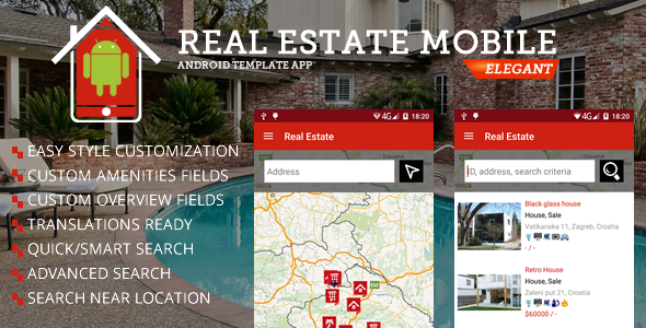 real estate android app by sanljiljan codecanyon