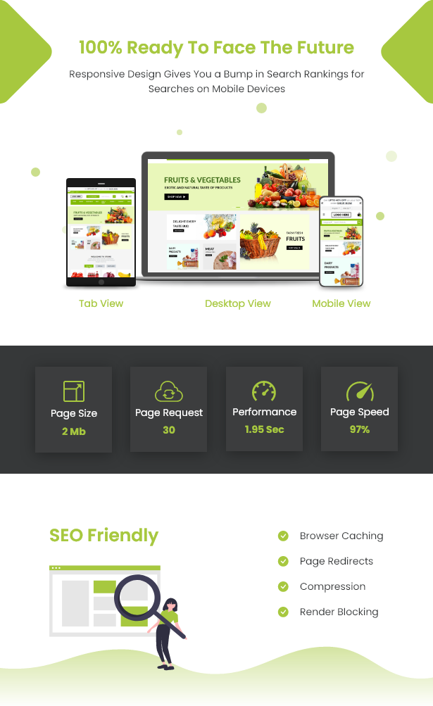 Ecommerce Solution with Delivery App For Grocery, Food, Pharmacy, Any Store / Laravel + Android Apps - 19