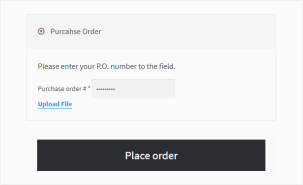 WooCommerce Purchase Order Gateway B2B - 3