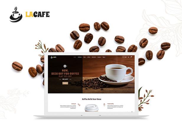 La Cafe - Coffee Shop Shopify Theme - 1