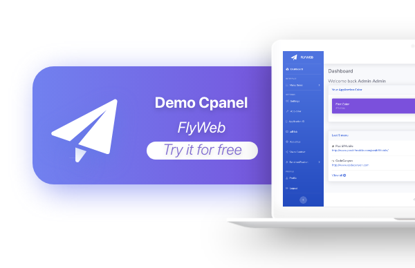 FlyWeb for Web to App Convertor Flutter + Admin Panel - 17