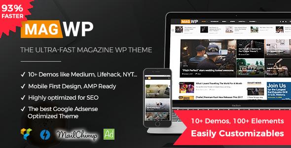 Mag WP | Magazine WordPress Theme