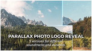 Parallax Photo Logo Reveal
