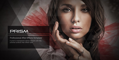 Prism After Effects Template Preview