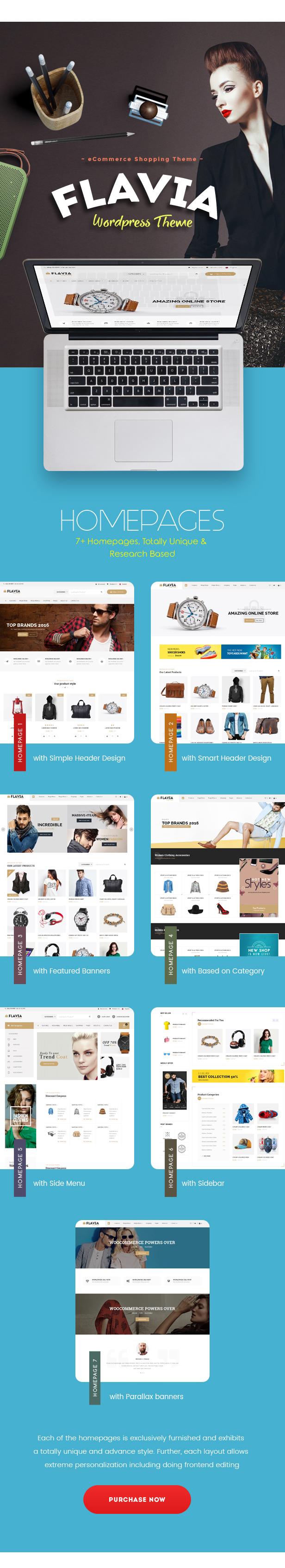 Flavia - Download Responsive WooCommerce WordPress Theme 2020 - 2