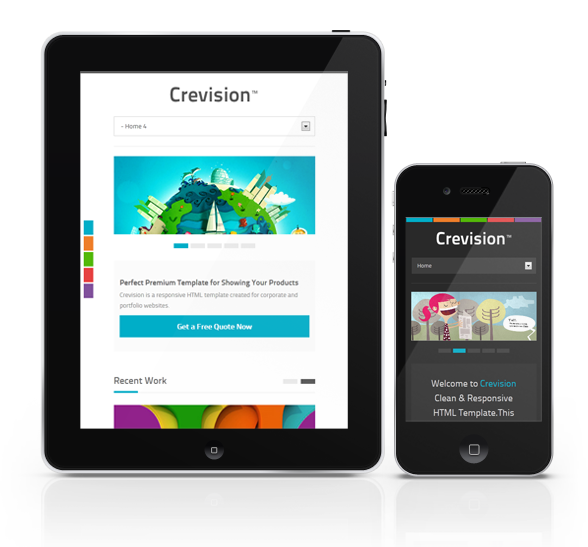 Crevision - Responsive HTML Template - 2