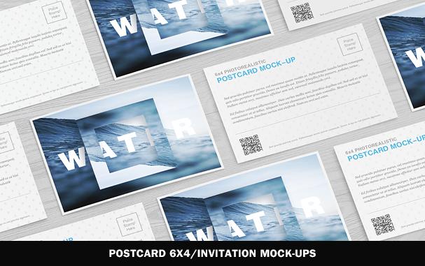 Postage Stamps Mock-Ups Vol.1 - 7