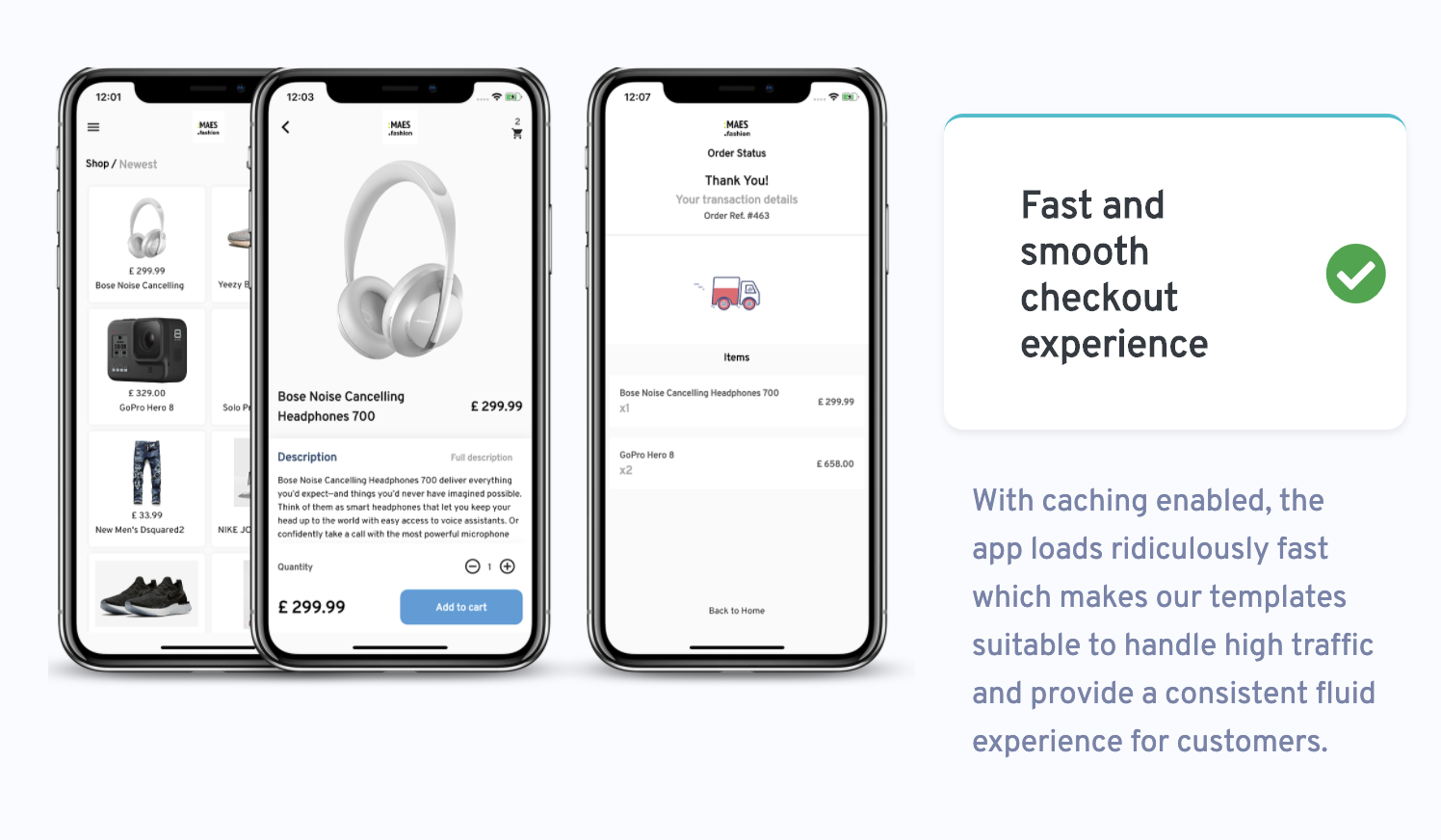 WooMobile - Flutter WooCommerce App Template for IOS and Android - 1