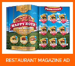 Restaurant Food Promotion Signage Banners - 3