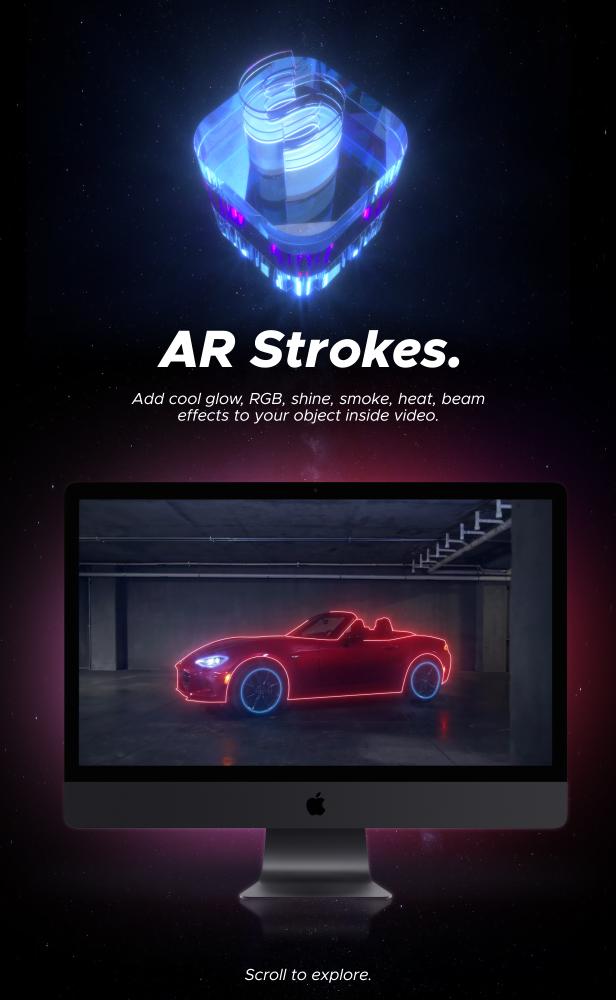 AE脚本-500多个人工智能高科技科幻HUD元素RGB光束烟雾描边效果AR动画工具包 AR Tools for Win/Mac破解版 V3插图7
