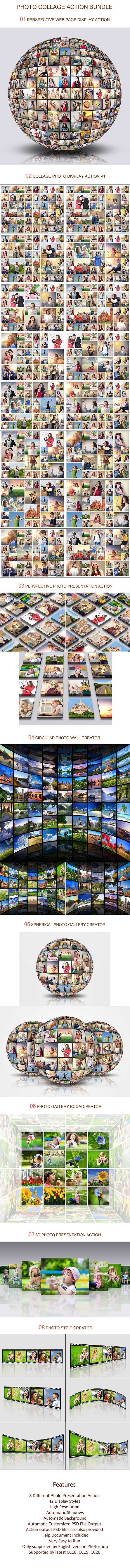 Photo Collage Action Bundle - 1