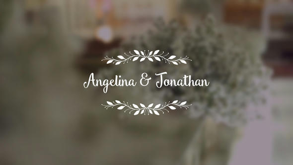 Wedding Titles - 2