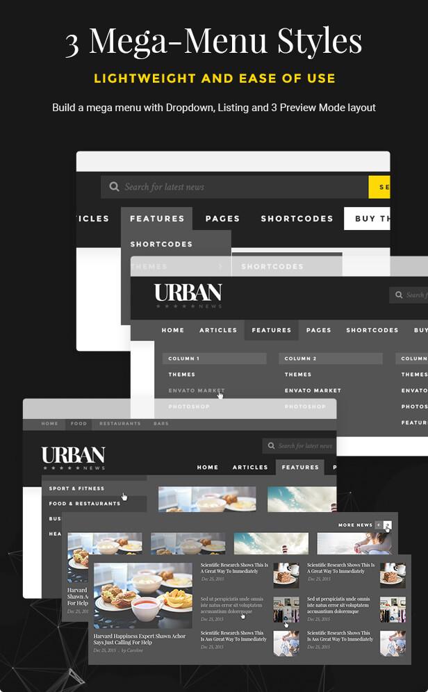 Urban - Responsive Magazine Theme - 13