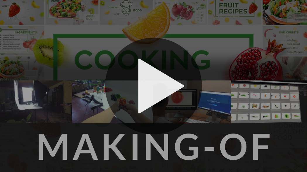 cooking heath template presentation