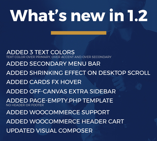 Life Coach Wordpress Theme what is new in 1.2