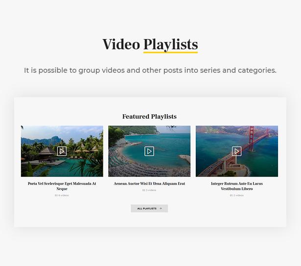 Surround - Vlog & Blog WordPress Theme - 9