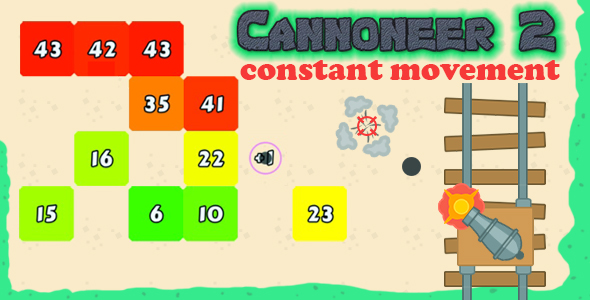 Cannoneer-2:Constant Movement