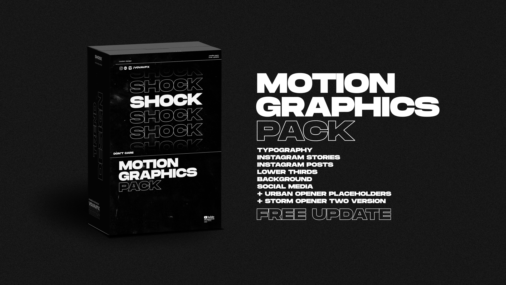 Shock | Motion Graphics Pack - 2