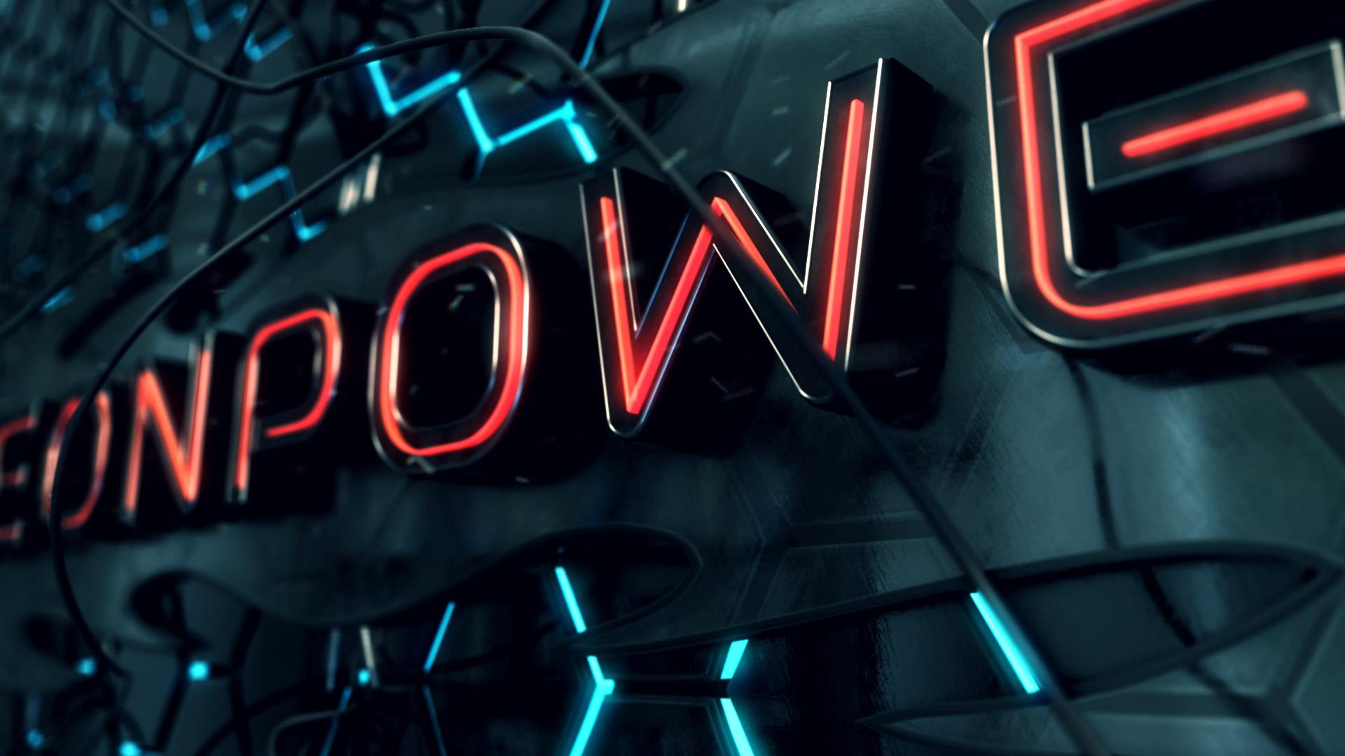 Neon Power Logo Opener - 4