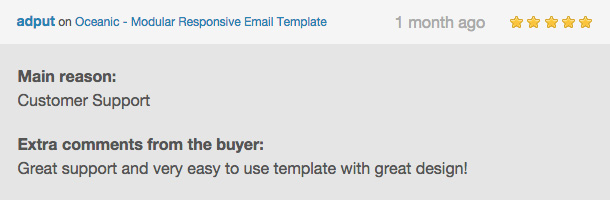 Oceanic - Modular Responsive Email Template - 9