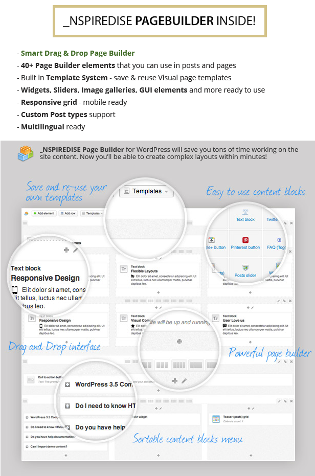_NSPIREDISE - Onepage Parallax WordPress Theme - 8