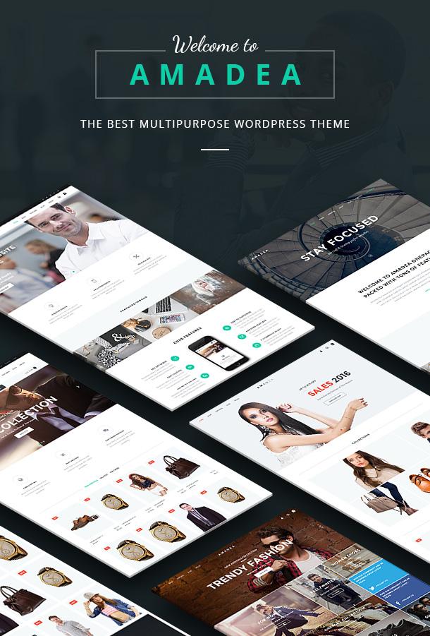 VG Amadea - Multipurpose WordPress Theme - 5