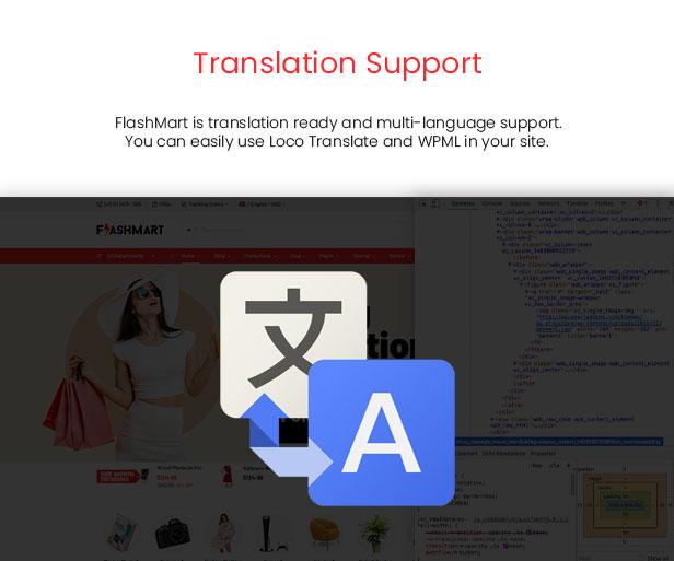 FlashMart - Multipurpose Elementor WooCommerce WordPress Theme - SEO Optimization